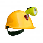Kit Lampara Minera Kl 6000 Casco Abs_amarillo